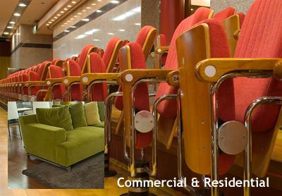 Commercial and Residential Upholstery Cleaning